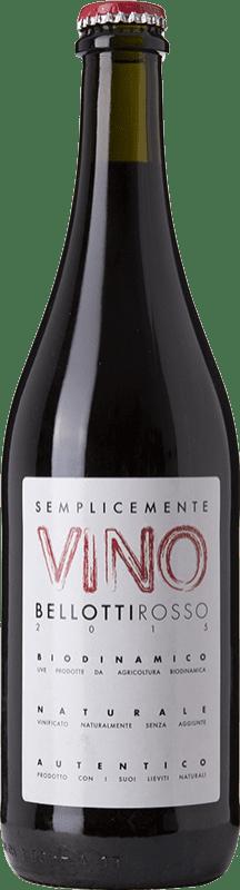 19,95 € | Red wine Cascina degli Ulivi Semplicemente Vino Bellotti Joven Otras D.O.C. Italia Italy Dolcetto, Barbera Bottle 75 cl