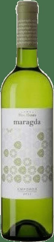 6,95 € | White wine Mas Llunes Maragda Joven D.O. Empordà Catalonia Spain Grenache White, Macabeo Bottle 75 cl