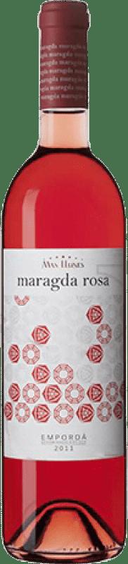 6,95 € | Rosé wine Mas Llunes Maragda Joven D.O. Empordà Catalonia Spain Syrah, Grenache Bottle 75 cl