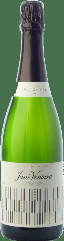 9,95 € Free Shipping | White sparkling Jané Ventura Música Brut Nature Reserva D.O. Cava Catalonia Spain Macabeo, Xarel·lo, Parellada Bottle 75 cl