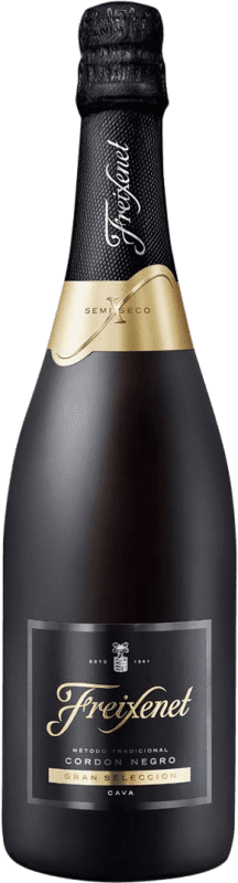 6,95 € Free Shipping   White sparkling Freixenet Cordon Negro Semi Dry D.O. Cava Catalonia Spain Macabeo, Xarel·lo, Parellada Bottle 75 cl