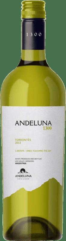 14,95 € | White wine Andeluna 1300 Joven Argentina Torrontés Bottle 75 cl