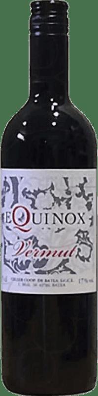 6,95 € Envío gratis | Vermut Batea Equinox España Botella 75 cl