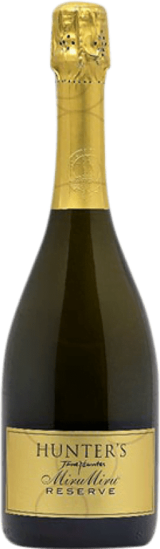 29,95 € Free Shipping | White sparkling Hunter's Miru Miru Brut Reserva New Zealand Pinot Black, Chardonnay, Pinot Meunier Bottle 75 cl