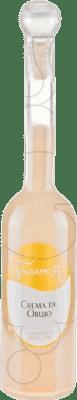 13,95 € Envío gratis | Crema de Licor Valdamor Crema de Orujo España Media Botella 50 cl