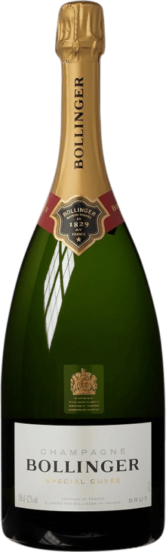 103,95 € | White sparkling Bollinger Cuvée Brut Gran Reserva A.O.C. Champagne France Pinot Black, Chardonnay, Pinot Meunier Magnum Bottle 1,5 L