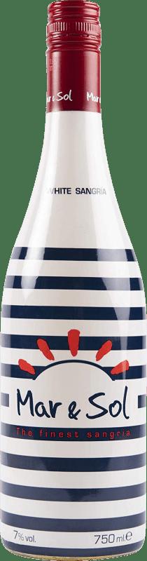 5,95 € Envío gratis | Sangría Sort del Castell Mar & Sol Clarea España Botella 75 cl