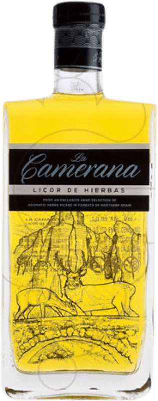 16,95 € 免费送货 | 草药利口酒 Albeldense La Camerana 西班牙 瓶子 70 cl