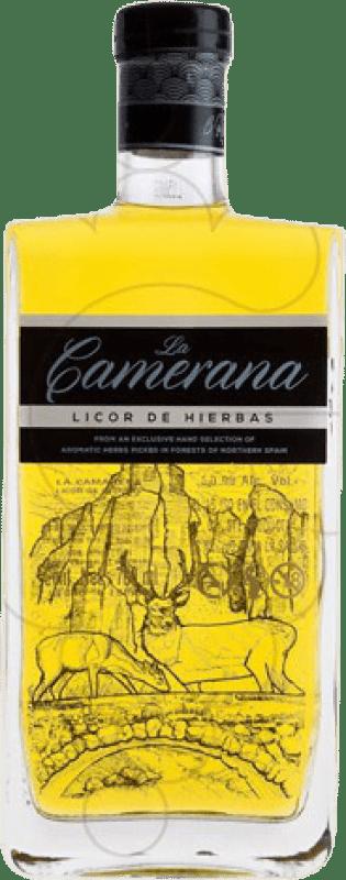 16,95 € Envío gratis | Licor de hierbas Albeldense La Camerana España Botella 70 cl