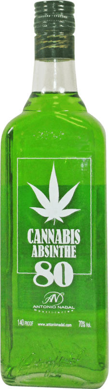 18,95 € 免费送货   苦艾酒 Antonio Nadal 80 Cannabis 西班牙 瓶子 70 cl