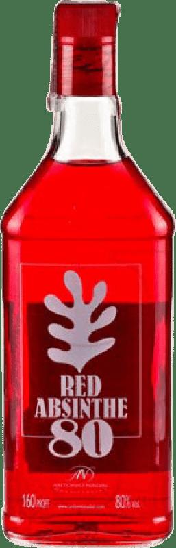 18,95 € Envío gratis | Absenta Antonio Nadal 80 Red España Botella 70 cl