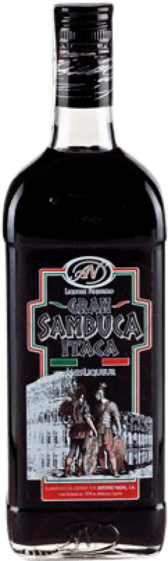 11,95 € 免费送货 | 八角 Antonio Nadal Sambuca Itaca Black 西班牙 瓶子 70 cl