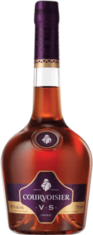 27,95 € Free Shipping | Cognac Courvoisier V.S. Very Special France Missile Bottle 1 L