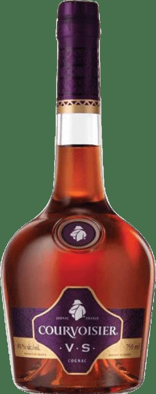 27,95 € Envío gratis | Coñac Courvoisier V.S. Very Special Francia Botella Misil 1 L