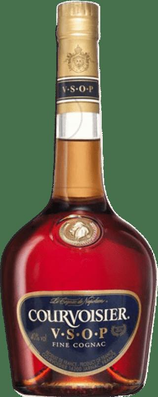 35,95 € 免费送货 | 科涅克白兰地 Courvoisier V.S.O.P. Very Superior Old Pale 法国 瓶子 Misil 1 L