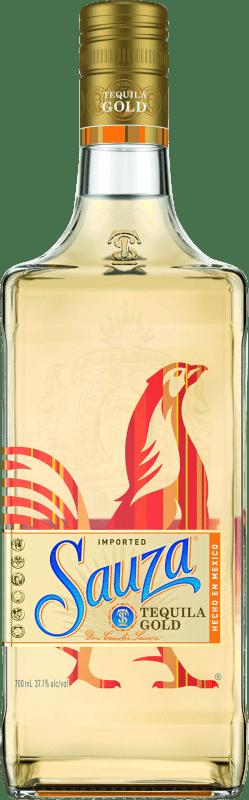 18,95 € Envío gratis | Tequila Suntory Sauza Gold Reposado Mexico Botella 70 cl
