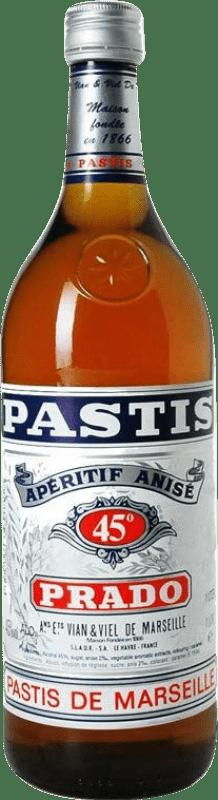 9,95 € Envío gratis | Pastis Bardinet Prado Francia Botella Misil 1 L