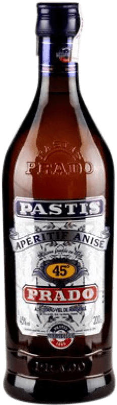 21,95 € Envío gratis | Pastis Bardinet Prado Francia Botella Especial 2 L