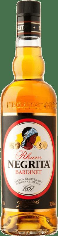 9,95 € 免费送货 | 朗姆酒 Bardinet Negrita Añejo 西班牙 瓶子 70 cl