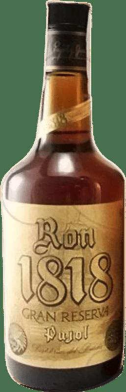 25,95 € | Rum Bardinet Pujol 1818 Extra Añejo Reserva Spain Bottle 70 cl