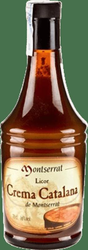 11,95 € Envío gratis | Crema de Licor Anís del Mono Crema Catalana Montserrat España Botella 70 cl
