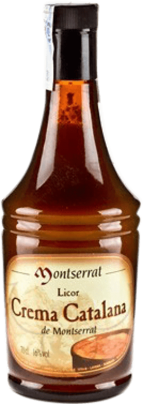 11,95 € Free Shipping | Liqueur Cream Anís del Mono Crema Catalana Montserrat Spain Bottle 70 cl