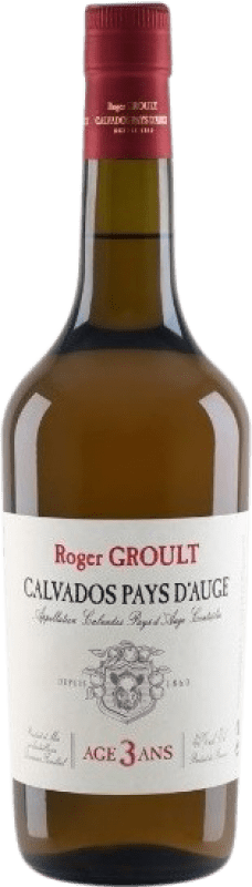 32,95 € Free Shipping | Calvados Roger Groult 3 Años France Bottle 70 cl