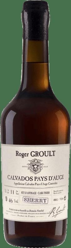 134,95 € Envoi gratuit | Calvados Roger Groult Sherry Finish France Bouteille 70 cl