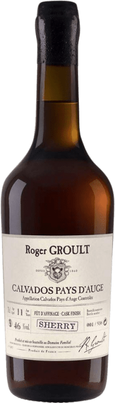134,95 € Envío gratis | Calvados Roger Groult Sherry Finish Francia Botella 70 cl