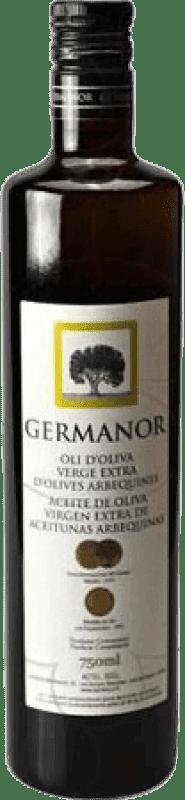 6,95 € Envío gratis | Aceite Actel Germanor España Botella 75 cl