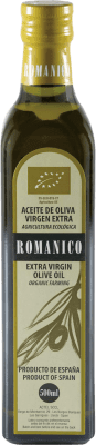 6,95 € Envío gratis | Aceite Actel Románico Ecológico España Media Botella 50 cl