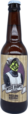 2,95 € | Beer Barcelona Beer Miss Hops High IPA Spain Botellín Tercio 33 cl