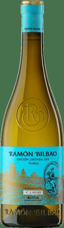 13,95 € Envío gratis | Vino blanco Ramón Bilbao Edición Limitada Lías Crianza D.O. Rueda Castilla y León España Verdejo Botella 75 cl