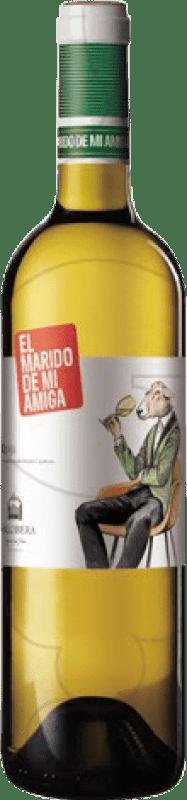 13,95 € | White wine Vallobera El Marido de mi Amiga Joven D.O.Ca. Rioja The Rioja Spain Tempranillo, Malvasía, Sauvignon White Magnum Bottle 1,5 L