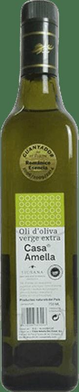 8,95 € Envío gratis | Aceite Amella España Botella 75 cl
