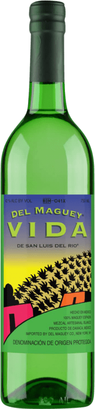 42,95 € Free Shipping | Mezcal Maguey Vida Espadín Mexico Bottle 70 cl