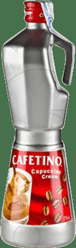 11,95 € Envío gratis | Crema de Licor Campeny Cafetino España Botella 70 cl