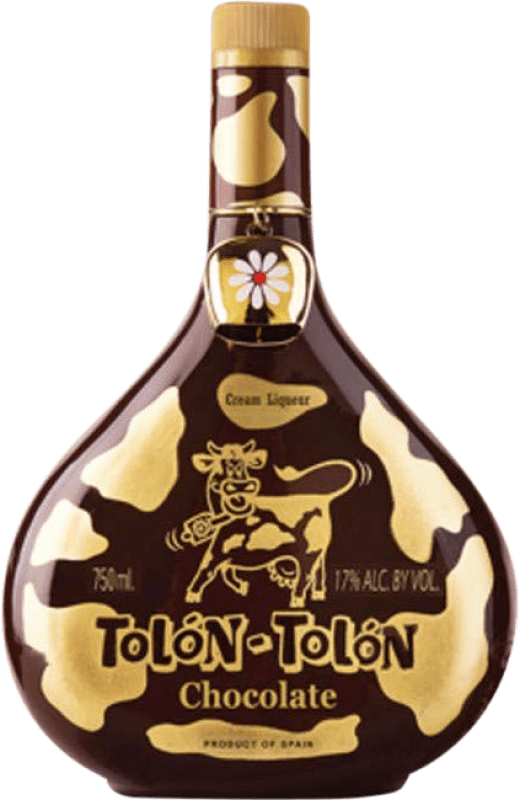 12,95 € | Liqueur Cream Campeny Tolon-Tolon Chocolat Cream Spain Bottle 70 cl
