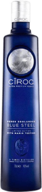 33,95 € | Vodka Cîroc Blue Steel France Bottle 70 cl