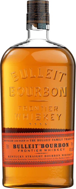 25,95 € Free Shipping | Bourbon Bulleit Distillery United States Bottle 70 cl
