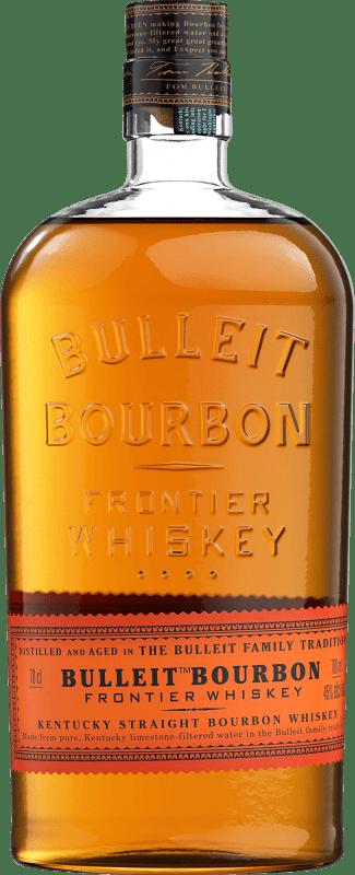 25,95 € 免费送货   波旁酒 Bulleit Distillery 美国 瓶子 70 cl
