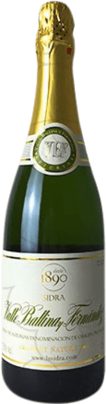 9,95 € | Cider El Gaitero Valle Ballina Brut Nature Spain Bottle 75 cl