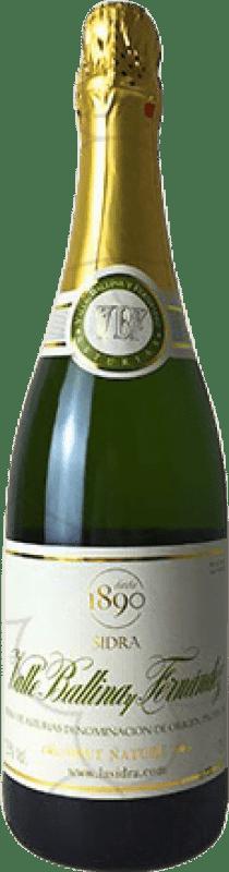 9,95 € 免费送货   苹果酒 El Gaitero Valle Ballina Brut Nature 西班牙 瓶子 75 cl