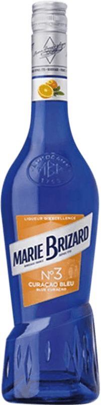 9,95 € | Triple Dry Marie Brizard Curaçao Blue France Bottle 70 cl