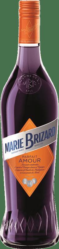 9,95 € Envío gratis | Triple Seco Marie Brizard Parfait Amour Francia Botella 70 cl