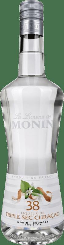 17,95 € Envío gratis | Triple Seco Monin Francia Botella 70 cl