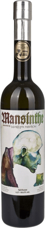 46,95 € Free Shipping | Absinthe Mansinthe Germany Bottle 70 cl