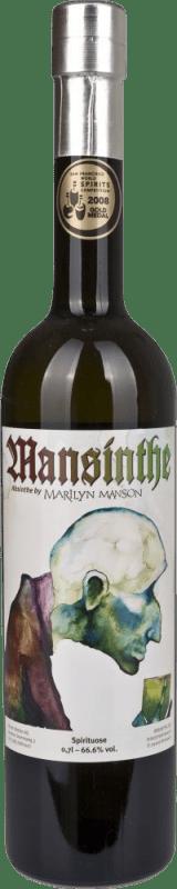 46,95 € 免费送货   苦艾酒 Mansinthe 德国 瓶子 70 cl