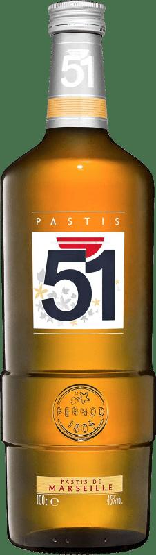15,95 € Envío gratis | Pastis 51 Escarchado Francia Botella 70 cl