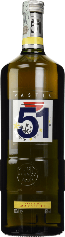 23,95 € | Pastis 51 France Magnum Bottle 1,5 L